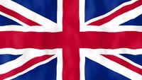 Engeland vlag animatie