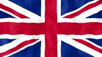 Animation du drapeau anglais