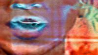 TV Noise 0301 - Statische tv met gezichten