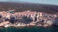 Ciudad corsa Bonifacio en 4K