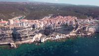 Cidade da Córsega Bonifacio em 4K