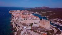 Korsische Stadt Bonifacio in 4K
