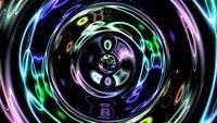 Boucle abstrait coloré