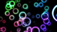 Lazo de fondo colorido abstracto