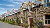 Traditional Scottish Stone Houses