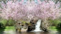 Fantasy Frühlingsgarten