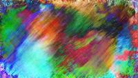 Colorful Grunge Art Background Loop