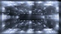 Futuristiska strukturer och ljusbakgrund
