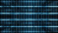 Glowing Grid Structures Background