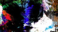 Bucle de fondo colorido arte grunge