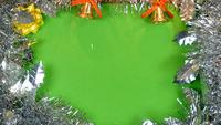 Brandend Sterretje Op Kerstmisdecoratie