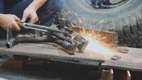 Schneiden von Stahl mit Gas