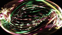 Spiral Electric Lines Background
