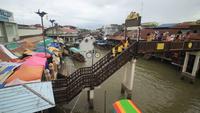 Mercado flutuante de Amphawa, Samut Songkhram, Tailândia