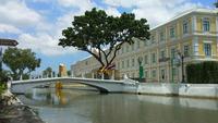 Gebäude des thailändischen Verteidigungsministeriums. Bangkok, Thailand