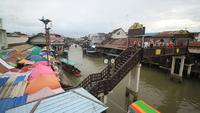 amphawa drijvende markt, samut songkhram, Thailand