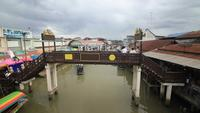 Marché flottant d'Amphawa, Samut Songkhram, Thaïlande