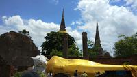 Boeddhistische tempel van het Ayutthaya de Historische Park in Thailand