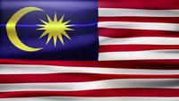 Bucle de bandera de Malasia
