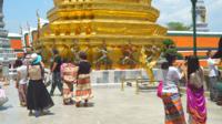 Bangkok Thaïlande - temple d'émeraude