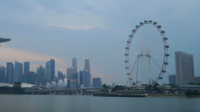 Singapur Skyline der Stadt