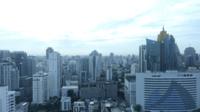 De stad Bangkok, Thailand