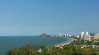 Hua Hin-stad in Thailand