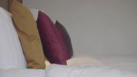 Kussens Op Een Hotelbed