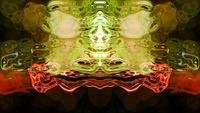 Rorschach 009 - Formes et flux d'images abstraites de Rorschach