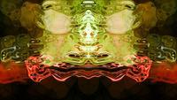Rorschach 009 - Abstrakt Rorschach-bildformer och flöden
