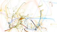 Partiklar ritar slumpmässigt ritar