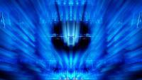 futuristisk teknik ljusformer lyser