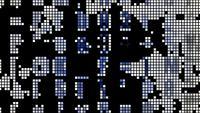 Los diodos emisores de luz parpadean con movimiento