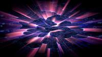 Explosión de luz parpadeante abstracta