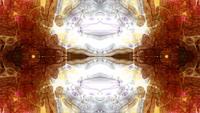 Formes et flux d'images abstraites de Rorschach