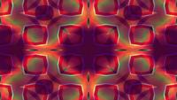 Kaleidoscopic Forms Merge and Pulse