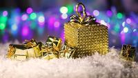 Gyllene julklappar