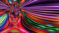 Formes hypnotisantes abstraites Ondulation et écoulement