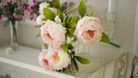 Blommor Och En Fotoram