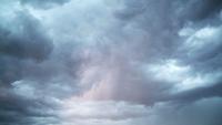Rayo durante una tormenta eléctrica