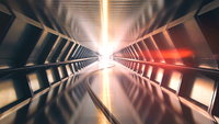 futuristisk tunnel 4k