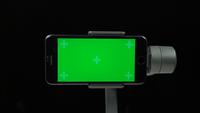 Groen scherm op mobiele telefoon