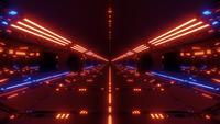Futuristische Scifi-tunnel