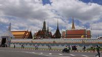 Wat Phra Kaew - De tempel van Emerald Buddha in Bangkok, Thailand