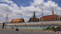 Wat Phra Kaew - Le temple du Bouddha d'Émeraude à Bangkok, Thaïlande