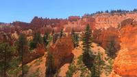 Vista de formaciones rocosas en Bryce Canyon 4K