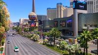 View Of The Strip In Las Vegas During The Day 4K