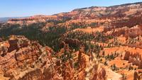 Pan Of Bryce Canyon In Utah 4 K