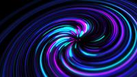 Abstract Colorful Swirl