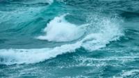 Wellen, Die Auf Dem Ozean Zusammenstoßen